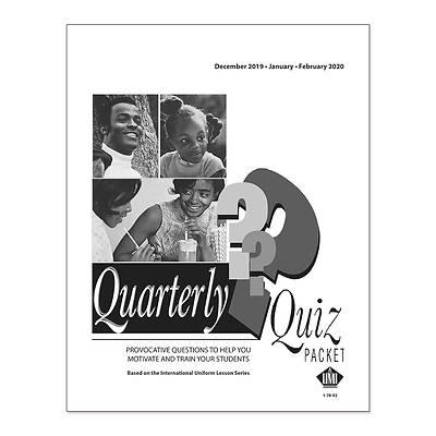 Picture of UMI Quarterly Quiz Pack of 11 Winter 2019-2020