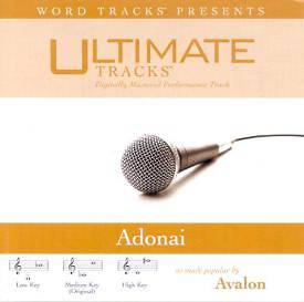 Adonai Performance Trax CD