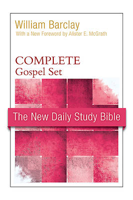 Picture of The New Daily Study Bible, Gospel Set (Paper)