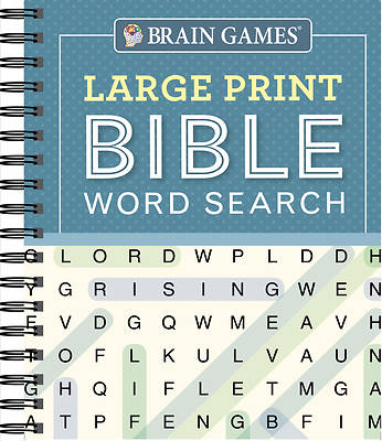 Picture of Brain Games Large Print Bible Word Search