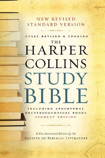 HarperCollins Study Bible New Revised Study Version Student