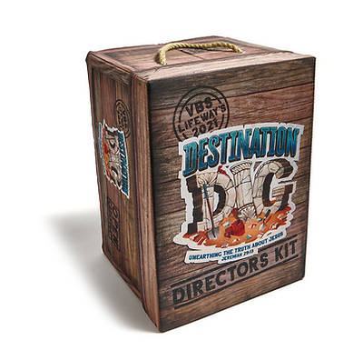 Picture of Vacation Bible School VBS 2021 Destination Dig Unearthing the Truth About Jesus Director's Kit
