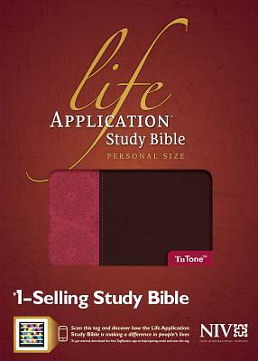 Life Application Study Bible New International Version, Personal Size Tutone