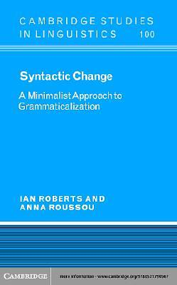 Syntactic Change [Adobe Ebook]