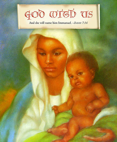 God With Us Christmas Nativity Bulletin 2012, Large Size (Package of 50)