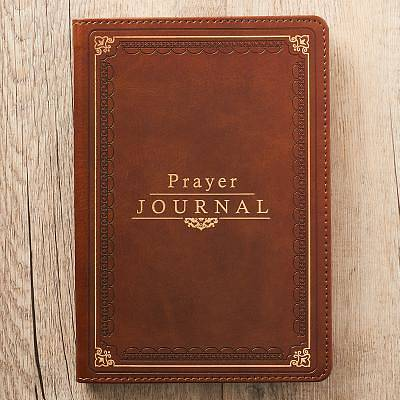 Picture of Prayer Journal Lux-Leather W/ Scripture/Prayers