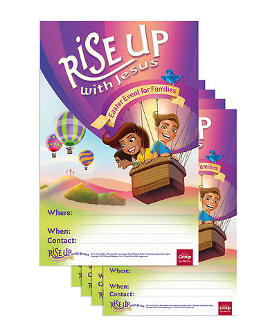 Picture of Rise Up With Jesus: Publicity Posters (5/pkg)