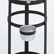 Picture of Koleys K445 5 Gallon Antique Black Holy Water Tank & Stand