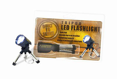 Built to Serve Tripod LED Flashlight