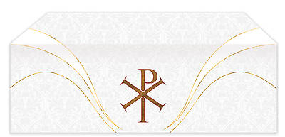 Easter Chi Rho Economy Altar Frontal