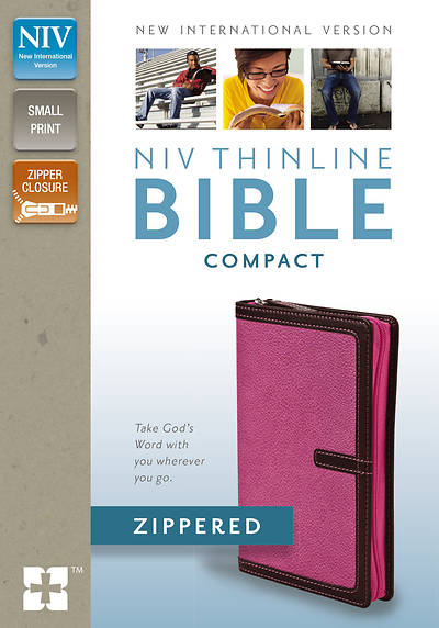 NIV Thinline Zippered Collection Bible, Compact