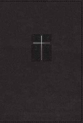 Picture of NIV Quest Study Bible, Leathersoft, Black, Indexed, Comfort Print