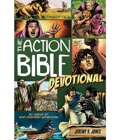 The Action Bible Devotional: 52 Weeks of God-Inspired Adventure (Case of 12)