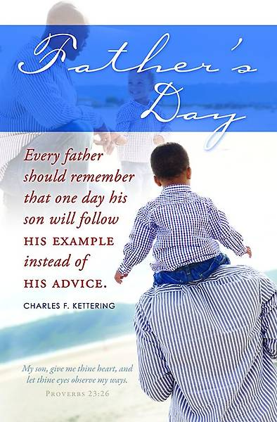 Picture of Follow Example - Heritage Father's Day Bulletin