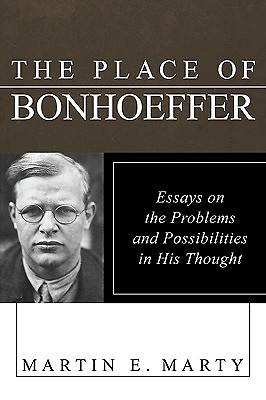 The Place of Bonhoeffer