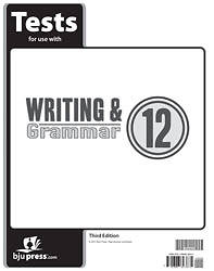 Writing Grammar Tests Grd 12