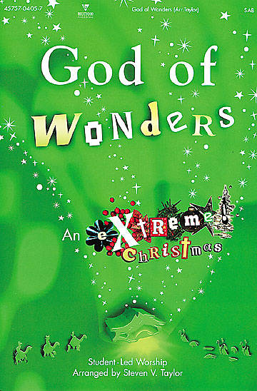 God of Wonders Choral Book