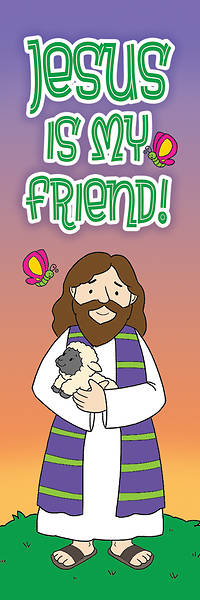 Jesus Is My Friend! Bookmark