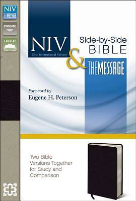 NIV and the Message Side-By-Side Bible