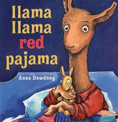 Picture of Llama, Llama Red Pajama