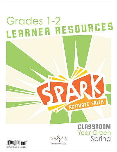 Spark Classroom Grades 1-2 Learner Leaflet Spring Year Green