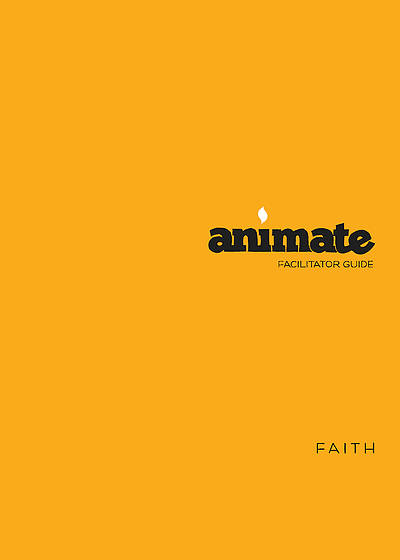 Picture of Animate Faith Facilitator Guide