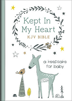 Picture of Kept in My Heart KJV Bible (Boy Cover)