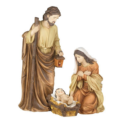 3PC Holy Family with Removable Baby Set 32