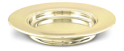 """Picture of Brasstone Communionware10"""" Bread Plate"""