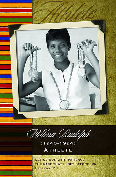 Black History/Wilma Rudolph Bulletin, Regular (Package of 100)