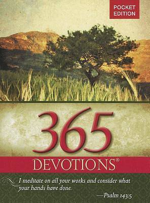 365 Devotions Pocket Edition-2012
