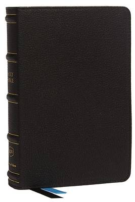Picture of Kjv, Compact Bible, MacLaren Series, Genuine Leather, Black, Comfort Print