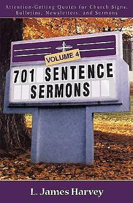 Picture of 701 Sentence Sermons, Volume 4