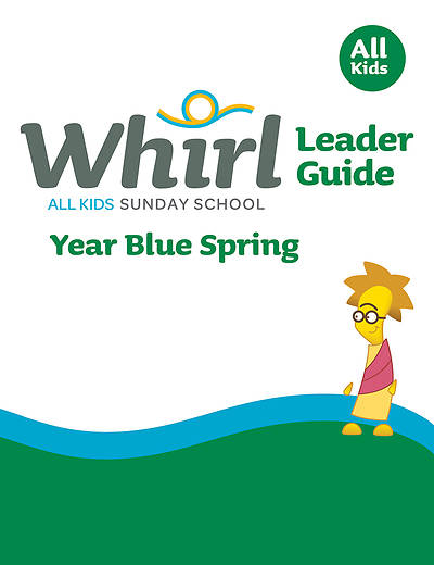 Picture of Whirl All Kids Leader Guide Year Blue Spring