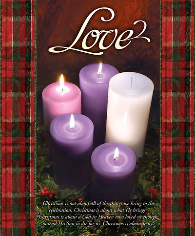 Advent Week 4/Love Bulletin, Large (Package of 100)