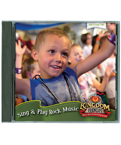 Group Vacation Bible School 2013 Kingdom Rock Sing & Play Rock Music Participant Version CD Set