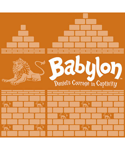 Vacation Bible School (VBS) 2018 Babylon Banduras (Tribe of Judah) - Pkg of 12