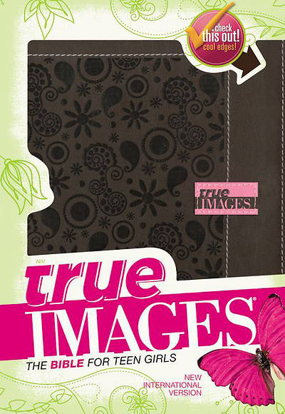 NIV True Images Bible Italian Duo-Tone Chocolate