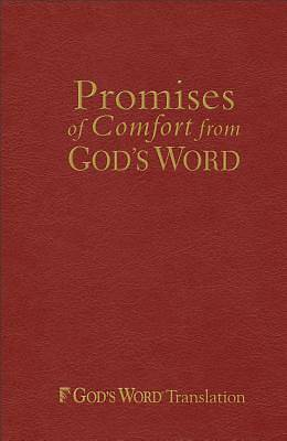 Promises of Comfort from Gods Word, Maroon Imitation Leather