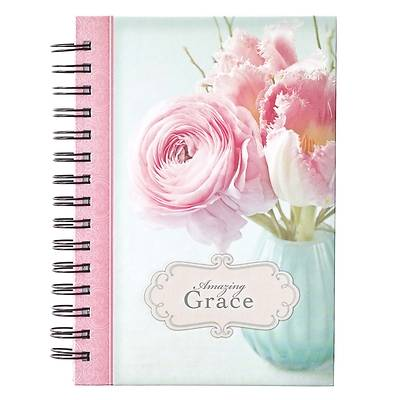 Picture of Journal Wirebound Large Amazing Grace