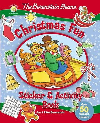 Picture of The Berenstain Bears Christmas Fun Sticker and Activity Book