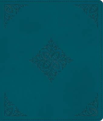 Picture of ESV Journaling Bible (Trutone, Deep Teal, Fleur-De-Lis Design)