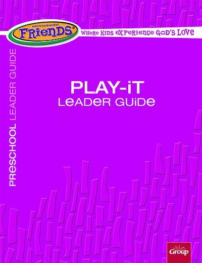 Picture of FaithWeaver Friends Preschool Play-It Leader Guide Spring 2021