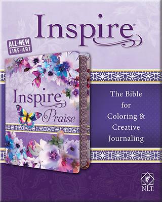 Picture of Inspire Praise Bible NLT, Feminine Deluxe