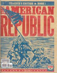 American Republic Grade 8 Teachers Edition Books A & B with CD 3rd Edition