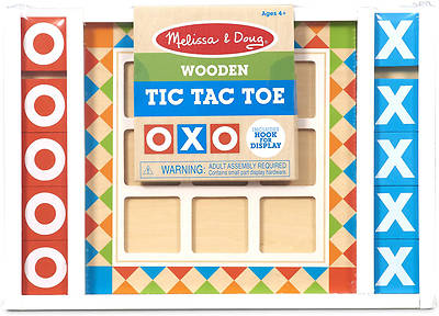 Picture of Wooden Tic-Tac-Toe Board Game