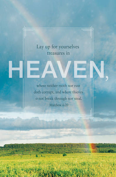 Picture of Heaven General Regular Size Bulletin