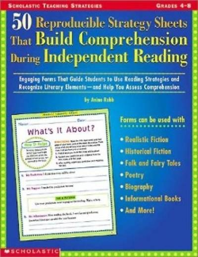 Picture of 50 Repro Strategy Sheets That Build Comprehension During Independent Reading