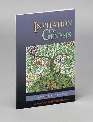 Invitation to Genesis: Leader Guide - eBook [Adobe]