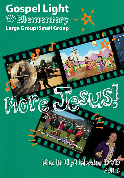 Gospel Light Elementary Mix it Up Media DVD Fall